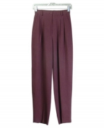 Our ladies washable fuji silk pants are comfortable and perfect for all occasions. These pants are softly shaped and drape very nicely. They can easily match sweaters and jackets. Machine wash or dry clean for best results.
