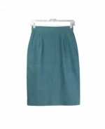 Our ladies washable fuji silk skirt is comfortable and perfect for all occasions. These pants are softly shaped and drape very nicely. It can easily match sweaters and jackets. Machine wash or dry clean for best results.