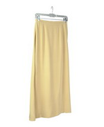 This luxe washable heavy weight 100% silk crepe long skirt is perfect for early fall and beyond.  Back waist has partial elastic for easy fit.  It is as comfortable in the office and meetings as it is out for dinner, party and travel.  This heavy crepe silk long skirt matches all the jackets, shirts and tank shell in this group pictured below.