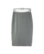 Women's Silk cashmere spandex regular straight skirt, 26