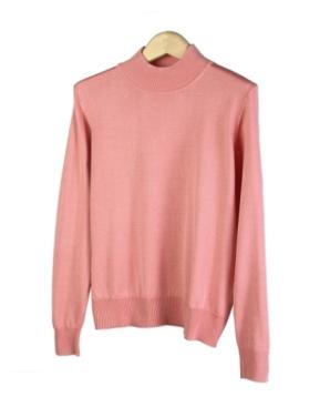 eff3c7d0de Women s Silk Mock Neck Sweater Long Sleeve w  Banded Bottom. XS(4) - Plus  Size 1X(16W-18W).
