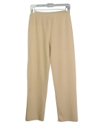 Ladies' viscose nylon full-needle knit pants. Size S(6) to XL(16-18) are available. Great draping and easy fit. Great for all occasions. 