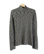 This mock neck long sleeve sweater is made of 100% silk. The space dye is multi-colored so this pullover gives you a sophisticated and casual look. There are matching jackets, pants and a skirt for this category of items. This top is soft and comfortable, and is great for all occasions. 6 beautiful colors available for this jacket: Camel, Autumn, Cinnamon, Plum, Forest, and Black.