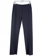 Ladies silk nylon full needle knit pull-on pants. Made of 80% silk and 20% nylon. Good draping and easy fitting. Matches all the tops and jackets of the silk/lycra collection shown below. 
