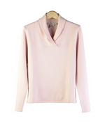 85% Silk and 15% Cashmere, shawl collar long sleeve sweater. A perfect classic fall/winter silk cashmere fine knit sweater for work and leisure wear. Great for all occasions.