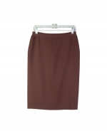 This 100% silk knit skirt is an extremely comfortable and durable item that is ideal for the fall season. You'll love this skirt for its lycra stretch and soft feel. Our silk skirt is perfect for dressing up as well as for dressing down. This basic skirt can easily match any of our beautiful silk tanks, tees, and sweaters. Hand-wash or dry clean for best results. 