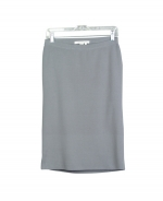 This ladies' viscose nylon full-needle knit skirt is a classic.  This stylish, yet practical skirt is part of a collection with matching sesame-patterned jacquard knit jackets, short sleeve sweaters, and sleeveless shells. You can easily mix and match this classic piece with various knit sweaters, pullovers, and jackets. 26